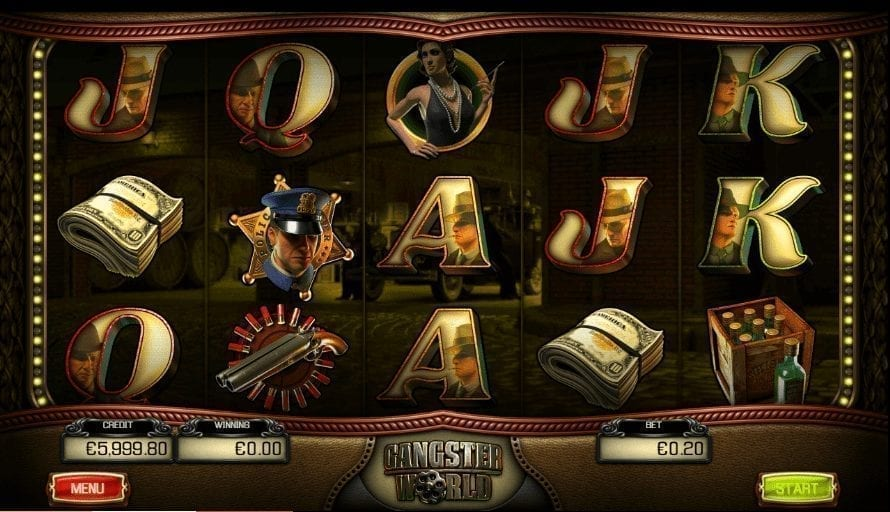 Automat Gangster World Online Zdarma