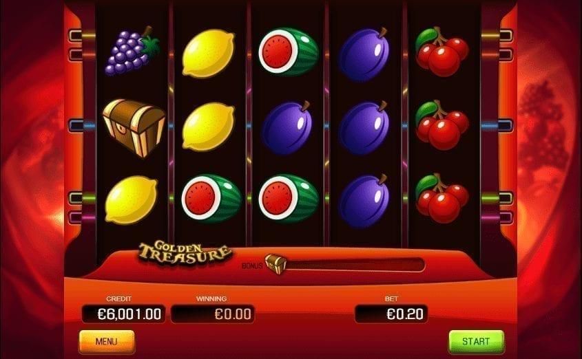 Výherní Automat Golden Treasure Online Zdarma