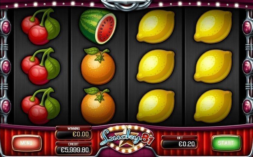 Automat Lucky 81 Online Zdarma