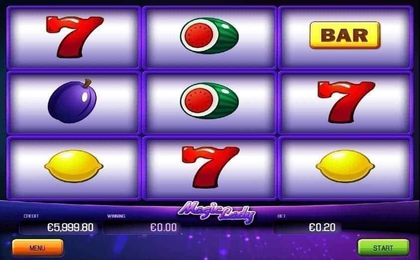 Hrací Automat Magic Lady Online Zdarma