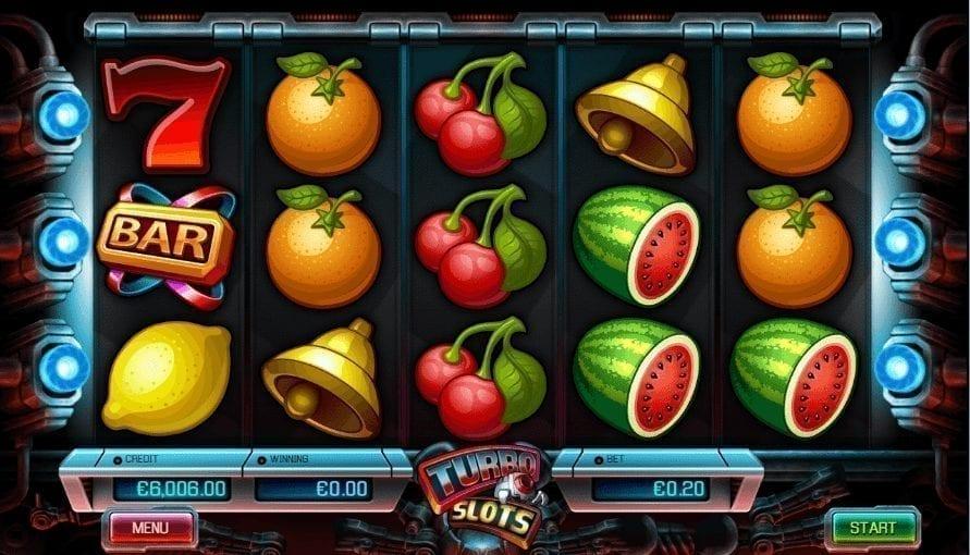 Hrací Automat Turbo Slots Online Zdarma