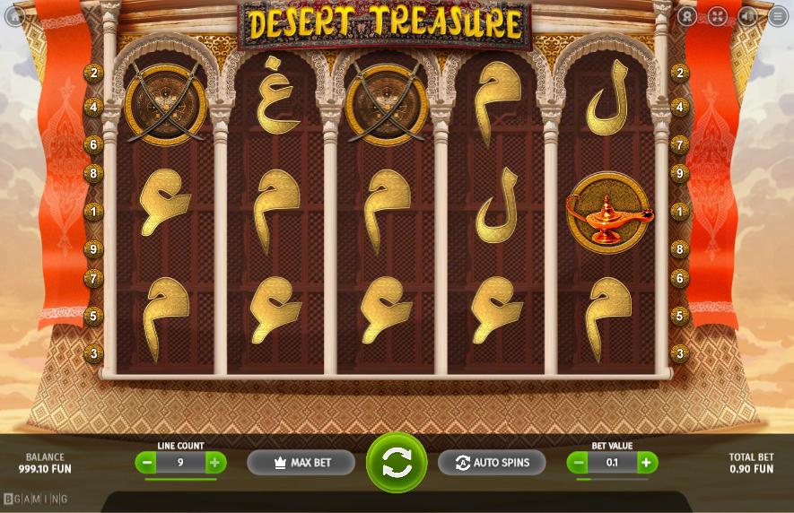 Desert Treasure BGaming