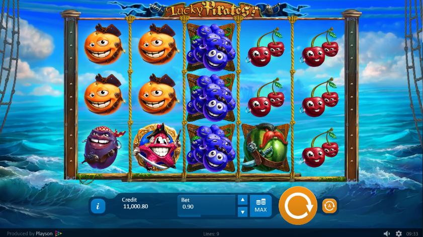 Lucky Pirates Playson